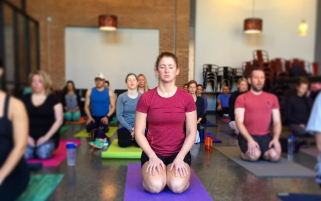 Om Tour Yoga Class