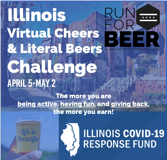 Run for Beer: Virtual Cheers & Literal Beers Challenge